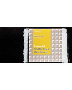 Scrummi Essential White Short Hair Towel 60x40cm 50 stuks