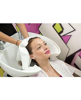 Scrummi De Luxe Waffle White Hair Towels 500 stuks