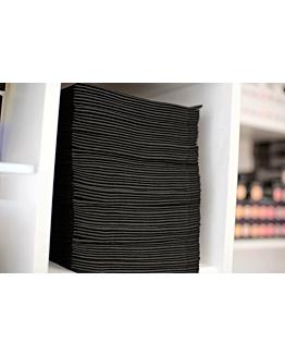 Scrummi Essential Waffle Black Hair Towels 700 stuks